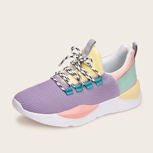 SHEIN COLORED SNEAKERS